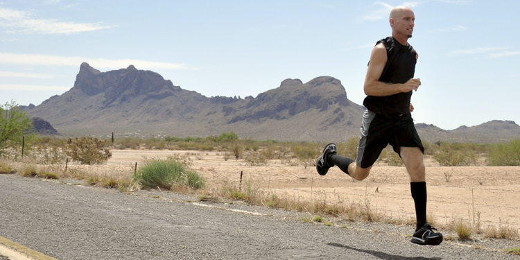 David O'Meara | Picacho Peak, AZ | 2008 | Age 45